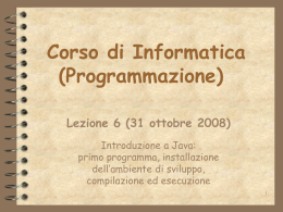 ProgrammazioneLEZ6