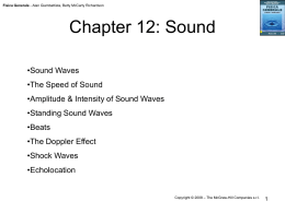 Chapter 12: Sound