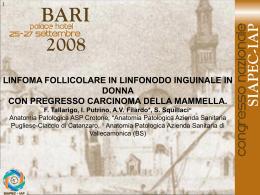 050 - F.Tallarigo, I.Putrino, et al.