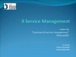 Il Service Management