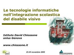 Accessibilità del web - Istituto per le Tecnologie Didattiche