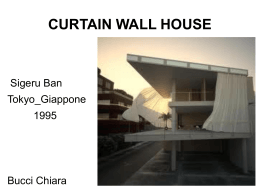 curtain wall house