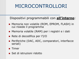 MICROCONTROLLORI
