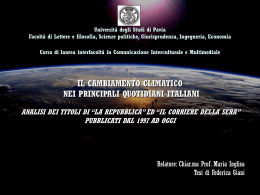 GIANI - Cim - Università degli studi di Pavia