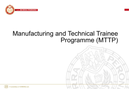 Technical Trainee Development