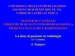 Radioprotezione - Azienda USL di Ferrara