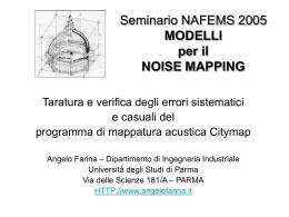 Lezione-30 - Angelo Farina - Università degli Studi di Parma