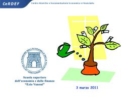 1. Presentazione per la prima lezione a cura della SSEF