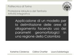 Applicazione di un modello per la delimitazione delle aree di