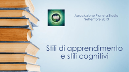 Stili_di_apprendimen.. - IIS Cartesio Luxemburg