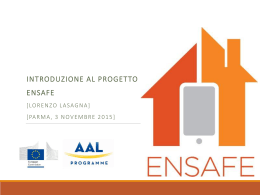 Kick-off meeting ENSAFE project