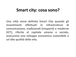 Smart city: cosa sono? - Together in Expo 2015