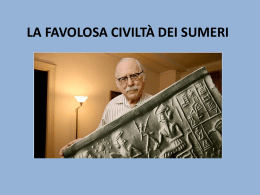 La favolosa civiltà dei Sumeri Salvo Domenico 1B Servizi