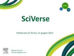 SciVerse - Politecnico di Torino