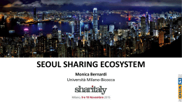 The «SHARING CITY SEOUL» project