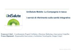 Presentazione Unipol 2