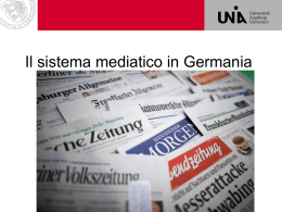 Media in Germania