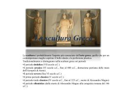 La scultura Greca