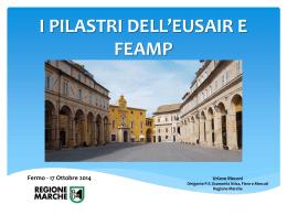 I Pilastri dell`EUSAIR e FEAMP