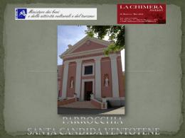Diapositiva 1 - Parrocchia Santa Candida Ventotene