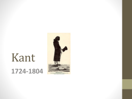 Kant - WordPress.com