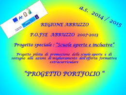 Guarda o scarica la presentazione in power point