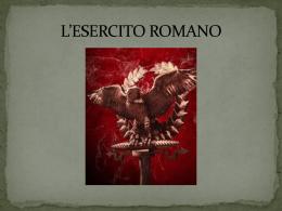 l`esercito romano