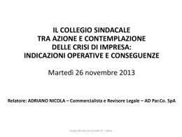 Adriano Nicola - Legacoop Emilia Romagna