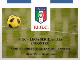 CAN A * Stagione 2014/2015