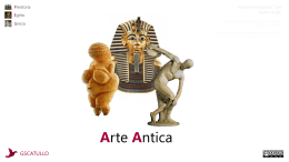 Arte Antica - Sapere Aude!