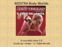 Visita alla Mostra Body Worlds - Classe IID Scuola Secondaria