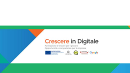MOOC - Crescere in digitale