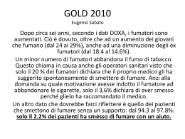 Gold 2010 proposte