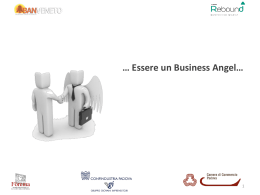 perche` essere un business angel