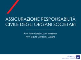 Assicurazioni responsabilità civile degli organi societari - Cc-Ti