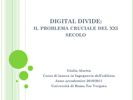 Tesina_Giulia_Alzetta_Digital_Divide