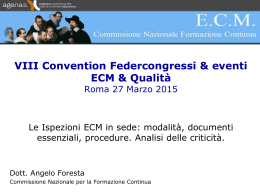 Angelo Foresta - Federcongressi