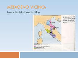 La nascita dello Stato Pontificio