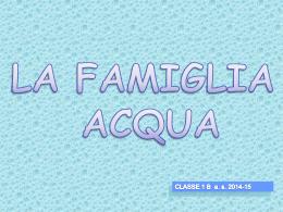 Famiglia ACQUA - ClementinaGily.it