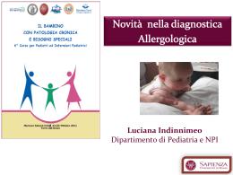 Novità nella diagnostica Allergologica