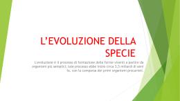 L*EVOLUZIONE DELLA SPECIE - Fresa