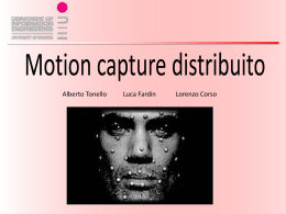 Presentazione Motion Capture Distribuito
