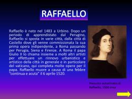 RAFFAELLO - IIS Leonardo Da Vinci – Chiavenna