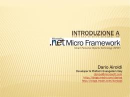 1. Introduzione a microframework rel