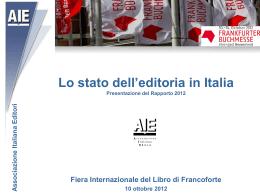 Rapporto Aie 2012