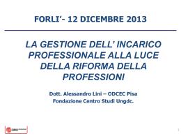 2013.12.12 Slide – Dott. Alessandro Lini