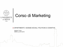 piani di marketing