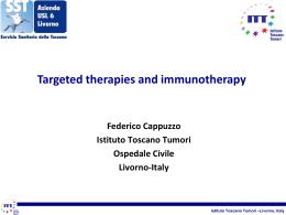 Relazione Federico Cappuzzo 2 - Associazione Italiana Oncologia
