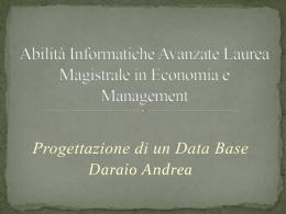 progettazione database biblioteca