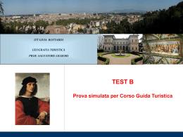Test B - risposte - prof. Liguori